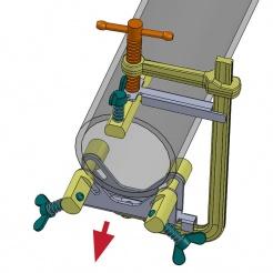 Svěrka centralizační 100 - 145 mm CPL75