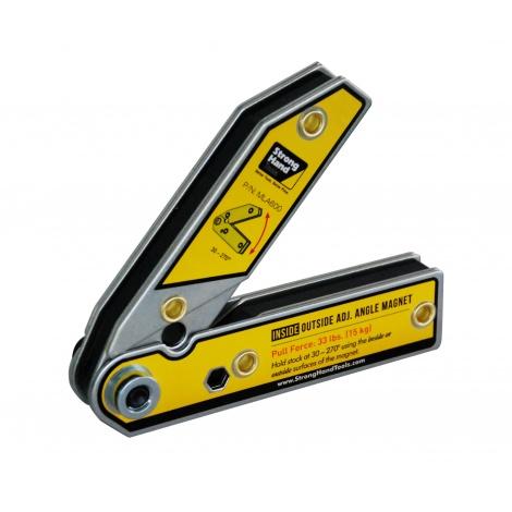 Polohovatelný úhlový magnet 30-270°