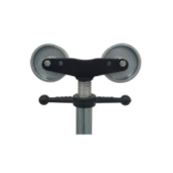 Hlavice PIPE - ocelová kola
