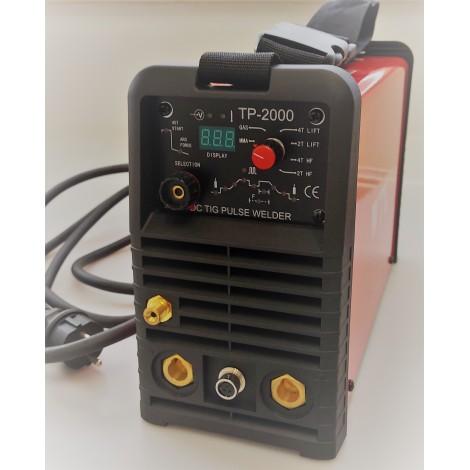 TP 2000/hořák/hadička/RV/kufr/kabely/kartáč